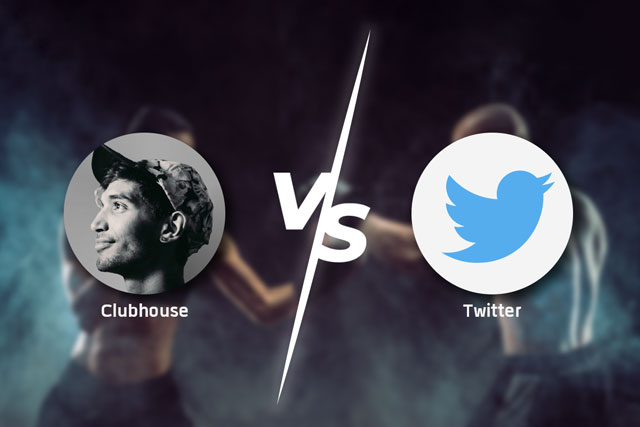 Twitter กับ Clubhouse